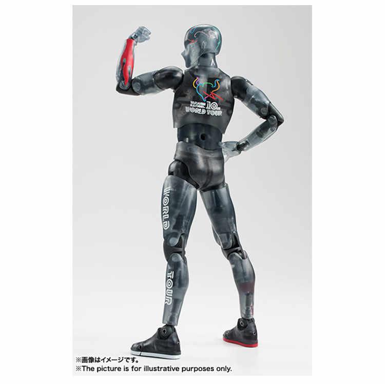 Cuerpo KUN BODY CHAN negro transparente Ver. He She Joint movible Doll ferrita Anime arquetype arte pintura PVC modelo 15cm
