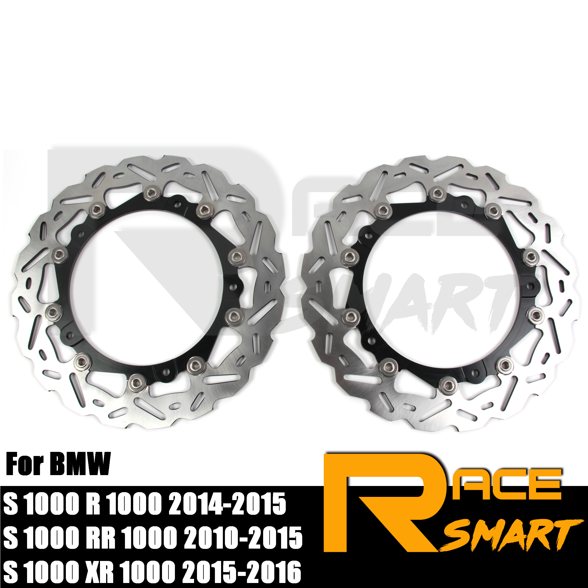 Motorcycle CNC Front Brake Disks Discs Stainless Steel Brake Rotor For BMW <font><b>S</b></font> <font><b>1000</b></font> R 2014 2015 S1000RR 2010 - 2015 <font><b>S</b></font> <font><b>1000</b></font> <font><b>XR</b></font> 2015 image
