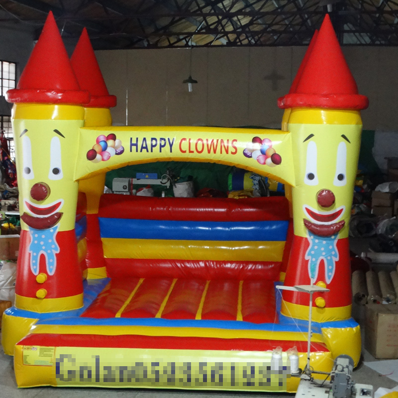 Inflatable Trampoline Bouncy House Birthday Gift For Kids