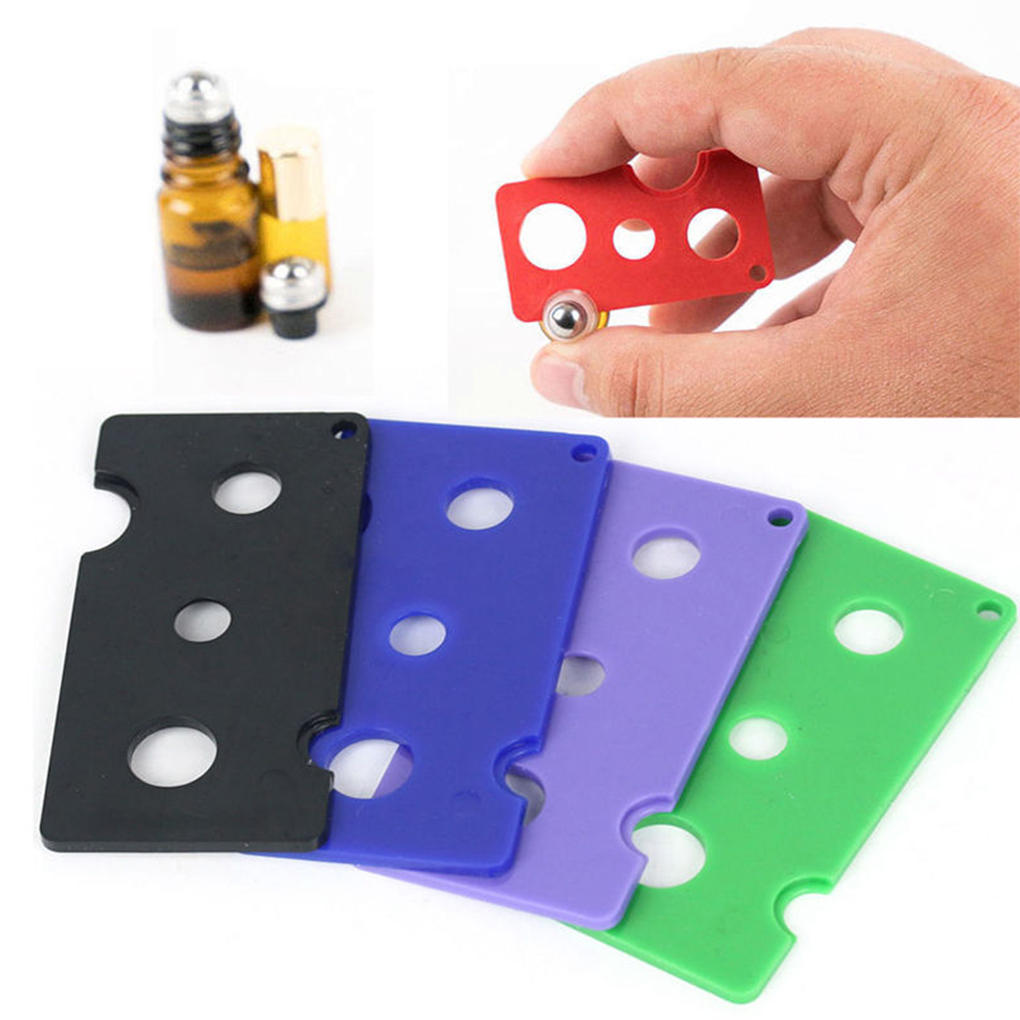 1 Pc Essential Oil Opener Key Tool Remover For Roller Balls  And Caps Bottles Plastic Opener Roller Dropshipping