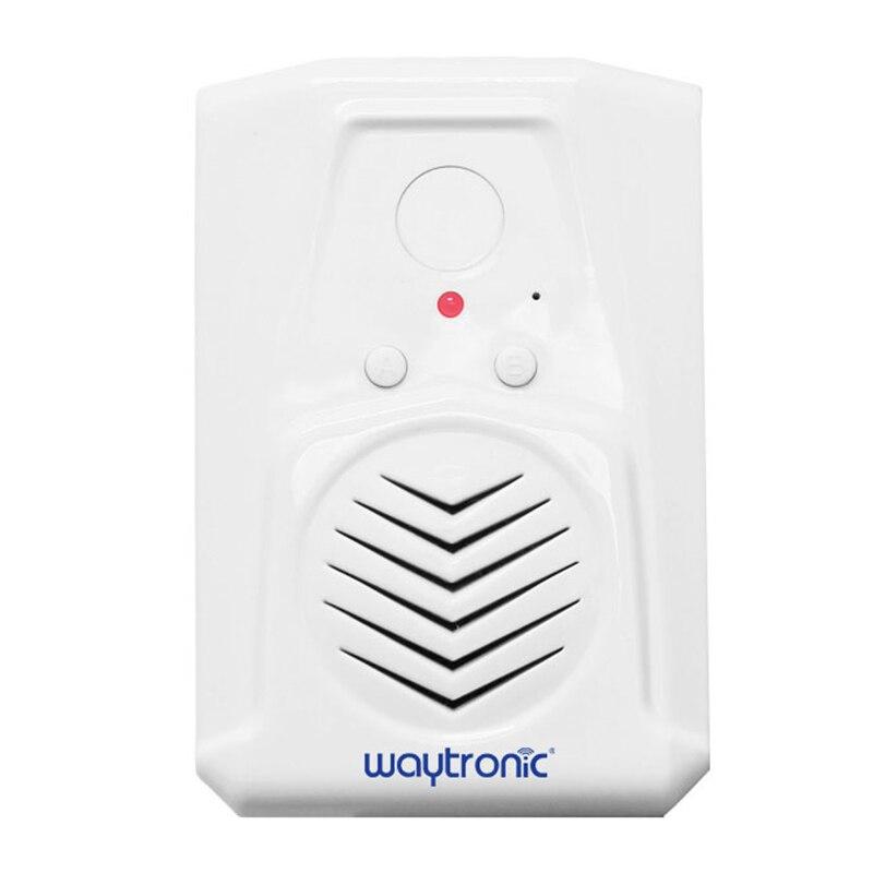 Waytronic Door Magnetic Induction Welcome Doorbell Anti-Theft Entry Alarm Refrigerator Window Door Open Sensor Voice Reminder Al