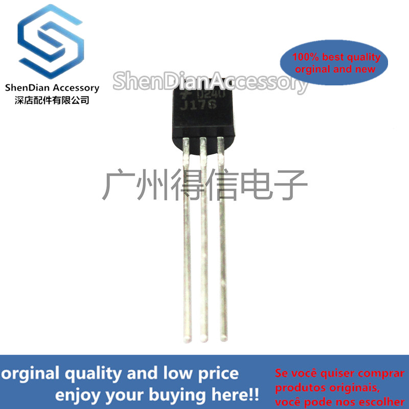 10pcs 100% New And Orginal J176 176  TO-92  In Stock