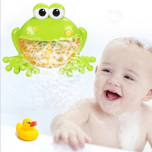 Funny Crab Music Bubble Machine Baby Bath Toys Baby Bath Music Tools Crab Blower Bubble Machine Toys Kids Children's Gifts