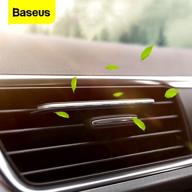 Baseus Car Air Freshener Auto outlet Perfume Vent Air Freshener In The Car Air Conditioning Clip Diffuser Solid Natural Perfume 1