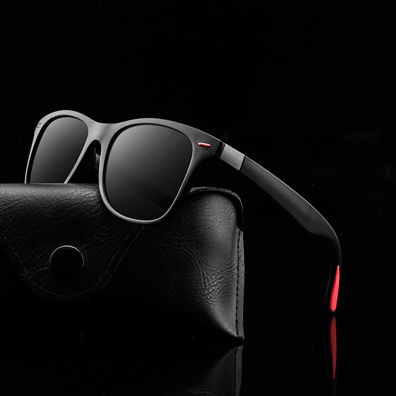 Солнцезащитные очки водительские для мужчин и женщин UV-400, Классические поляризационные, в квадратной оправе, для вождения