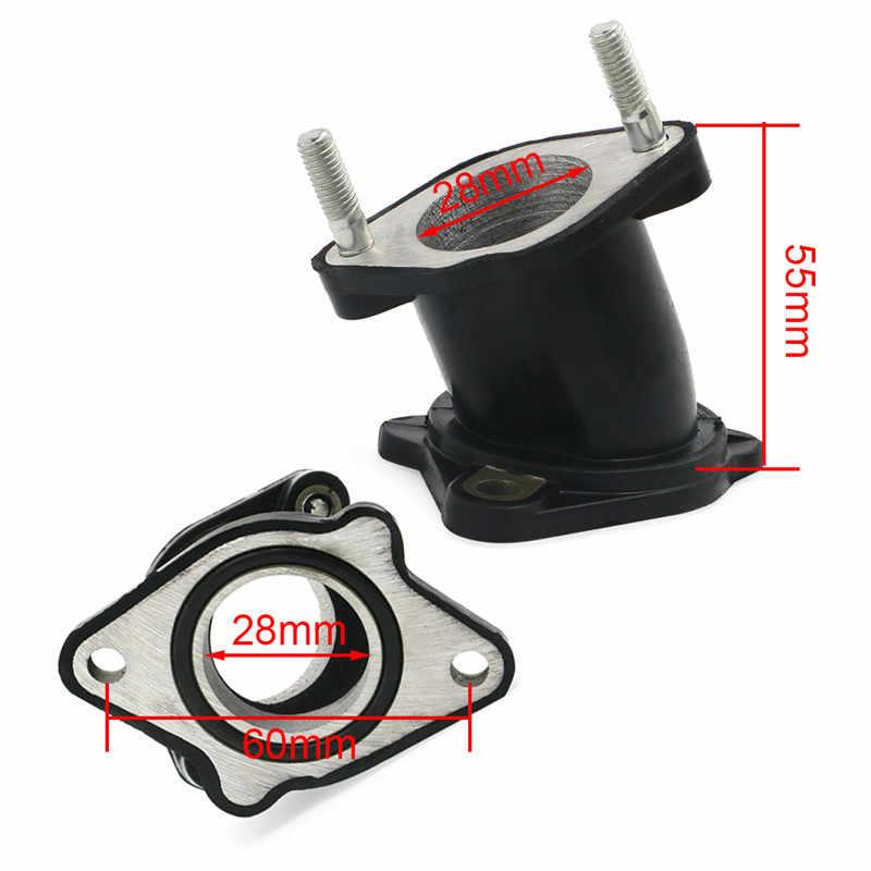 Arranque del adaptador del colector de admisión del carburador de la motocicleta para Honda ATC200 Big Red 200 ATC 200E 200ES 200M 200S XL100S XR200 XR200R