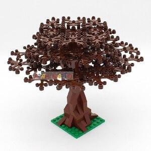 DIY Bausteine Garten Pflanzen Baum 7 Farbe Pädagogisches Kreative Zahlen Bricks Größe Kompatibel Mit Marken Spielzeug für Kinder