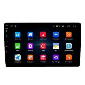 Reproductor Multimedia VODOOL 1Din Android 9,1 para coche, reproductor de Radio 10,1