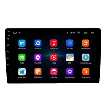 "VODOOL 1Din Android 9.1 Car Radio Multimedia Player 10.1"" Touch Screen Autoraido GPS Navigation Bluetooth WiFi Stereo MP5 Player image"