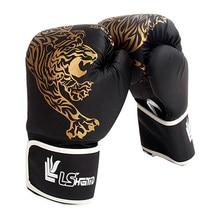 Guantes de boxeo para niños, manoplas de combate transpirables, Muay Thai, Sparring, Kickboxing, 1 par