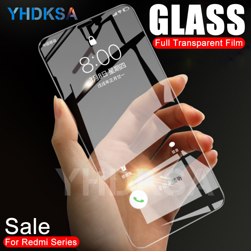 9H Tempered Glass For Xiaomi Redmi 5 Plus 5A 4 4X 4A S2 Go K20 Redmi Note 4 4X 5 5A Pro Screen Protector Safety Protective Film