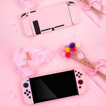 Dla Nintendo Switch Case Controller Shell różowe sztywne etui Shell NS konsola do gier ochronna pokrywa dla Nintendo przełącz akcesoria tanie i dobre opinie Jeebel Camp 2019 for Nintendos Switch Console PC Shell Cover Nintend Switch Controller Housing Shell case Soft Touch Feeling