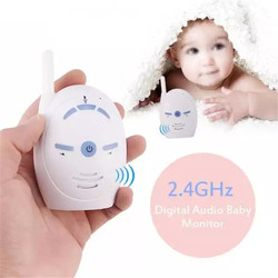 V20 Portable Baby Sitter 2.4GHz Baby Monitor Audio Digital Voice Broadcast Double Talk Walkie-talkie