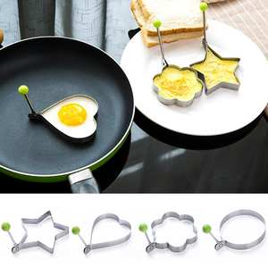 Kitchen-Accessories-Tools Egg-Shaper-Mould Cooking-Tools Frying Egg-Pancake Omelette-Decoration