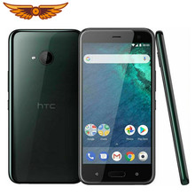 Original desbloqueado htc u11 vida 5.2 polegadas octa-core 3gb ram 32gb rom 16mp câmera único cartão sim android usado celular