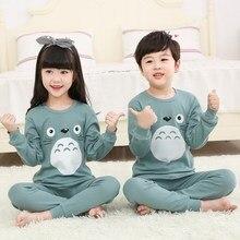 2020 Autumn Winter Kids Pajamas Sets Baby Girl Boy Clothes P