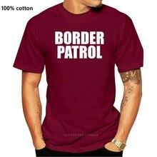 국경 순찰 미국 이민 및 세관 집행 T 셔츠 남성