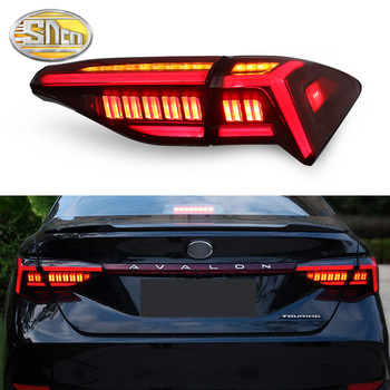 Car LED Tail Light Taillight For Toyota Avalon 2019 2020 Rear Fog Lamp + Brake Light + Reverse Lamp + Dynamic Turn Signal Light