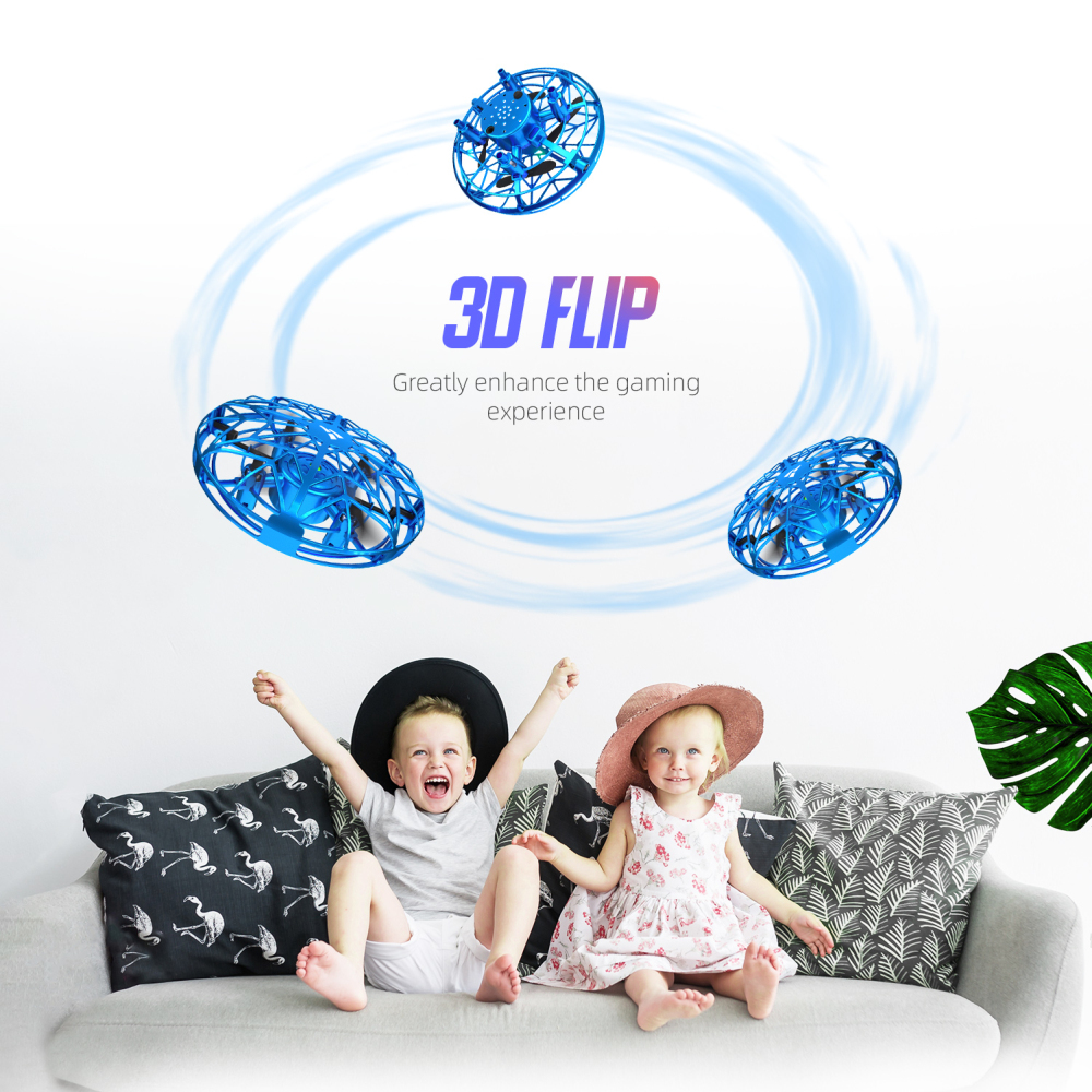 lowest price SNAPTAIN SP330 Hand Operated Drone Flying Toys Mini Drones 3D Flips Hand Operated Hand Control toy drone dron for Kids or Adults