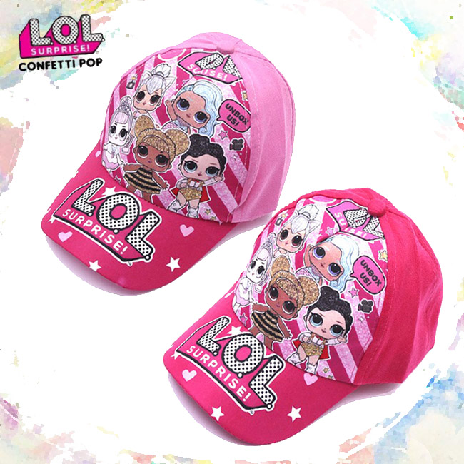 Lol Original Surprise Dolls Peaked Cap Hat Universal Adjustable Figure Quality Kid Outdoor Shade For Kids Girls Birthday Gifts