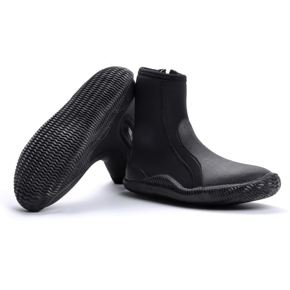 5MM Neoprene Scuba Diving Shoes High Upper Anti Slip Diving Boots Warm Shoes Fishing Winter Swimming Fins Accessories