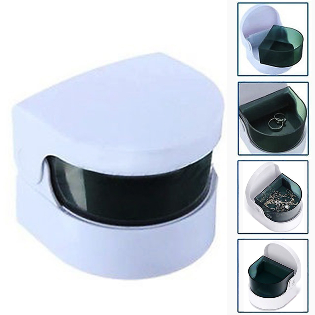 New Smart Mini Cordless Ultra Sonic Cleaner Bath For Cleaning Coins Jewelry Dentures Intelligent Control Cleaner