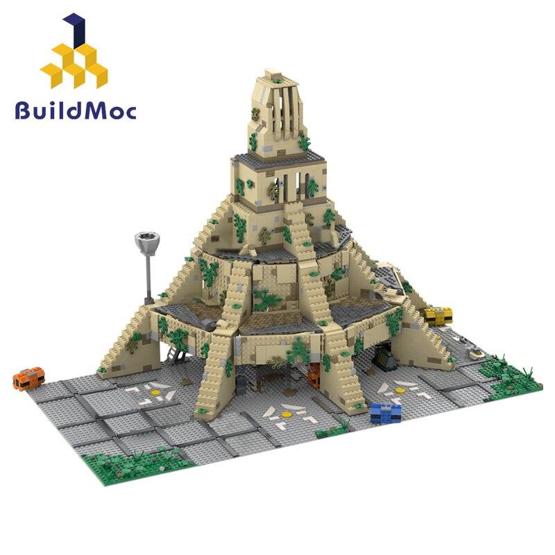 Buildmoc Yavin IV повстанцы-база Планетарная война здание 50076 Модель Строительный блок игрушка кирпич коллекция подарок на день рождения