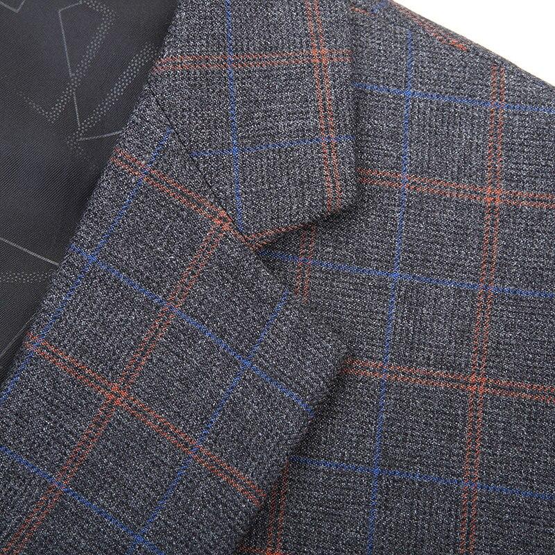 2019 big Plus size 8XL 7XL 6XL New Arrival Autumn And Winter Men's Suit Jacket Fashion Slim Fit Brazer Casual Blazers Men - 6
