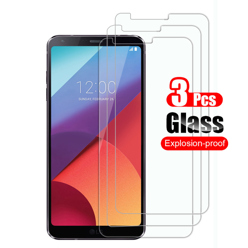 3Pcs Tempered <font><b>Glass</b></font> for <font><b>LG</b></font> <font><b>G6</b></font> <font><b>Screen</b></font> <font><b>Protector</b></font> Protective Film for <font><b>LG</b></font> <font><b>G6</b></font> H870 H871 LS993 <font><b>Glass</b></font> Shield 9H image