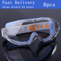 CK Tech. Safety Glasses Anti shock PC Lens Goggles Anti splash Windproof Riding Protective Glass Dust proof Working Eyewear