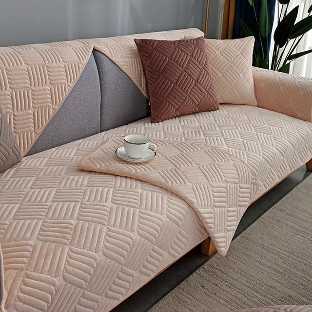 Купить modern minimalist sectional sofa cover armchair solid color картинки цена