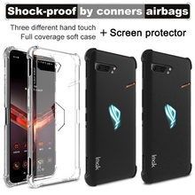Imak Tpu Frosted Zachte Siliconen Case Voor Asus Rog Telefoon 2 ZS660KL Case Matte Black Shockproof Airbag Cover Rog phone2(China)