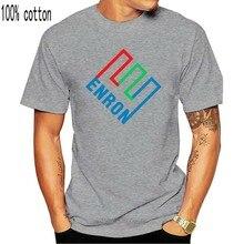 Nouveau Enron Corp scandale Logo symbole hommes noir blanc T-Shirt taille S-2Xl nouveau unisexe drôle T-Shirt