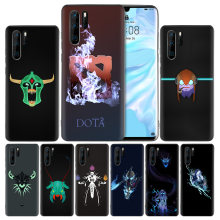 Silicone Case for Huawei Mate 30 20 10 P30 P20 Nova 5 5i Lite Pro P Smart Z Plus 2019 Back Cover Dota 2 Game(China)