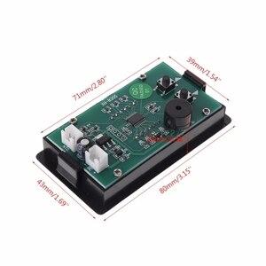 Image 5 - تيار مستمر 12 فولت ميزان الحرارة 60 ~ 125 درجة مع ارتفاع وكيف درجة الحرارة وظيفة التنبيه الدقة ميزان الحرارة B3950 10K الاستشعار Au13 19