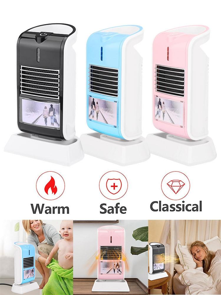 Arctic Air Desktop Mini Silent Portable Heater Fan  Adjustment Air Heater Safe Home Office Mini Aircon рекуператор воздуха 40