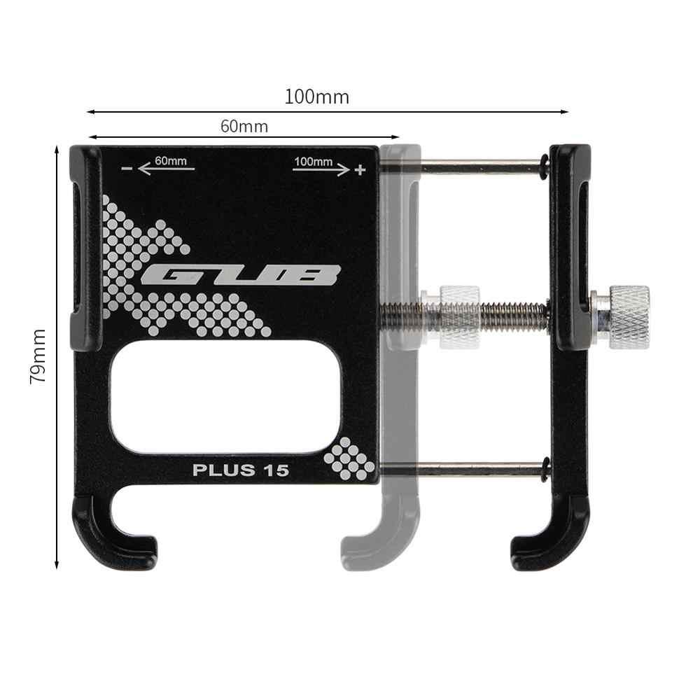 Кронштейн для мобильного телефона GUB PLUS 15 из алюминиевого сплава подходит для велосипедов и мотоциклов Простая установка держатель для телефона на велосипед