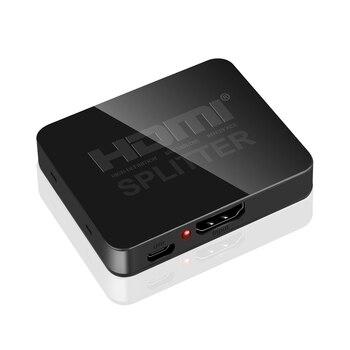 4K HDMI совместимый сплиттер Full HD 1080p HDMI совместимый переключатель 1X2 сплиттер 1 в 2 выход усилитель двойной дисплей для HDTV DVD Кабели HDMI      АлиЭкспресс