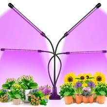 Phytolamp para plantas led crescer luz para plantas de interior usb cronometragem espectro completo flexível clipe efeito estufa hidroponia phyto lâmpada