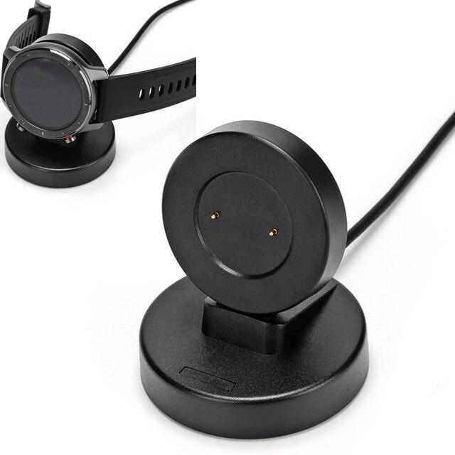 Dock şarj tabanı USB şarj kablosu adaptörü için standı tutucu Huawei GT 2/2e GS pro onur sihirli saat rüya Magic2 42mm /46mm