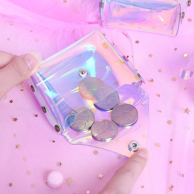 1414 Online Celebrity GIRL'S Zero Cross Square INS Jelly Heart Cross Square Laser Zero Cross Square Korean-style Short