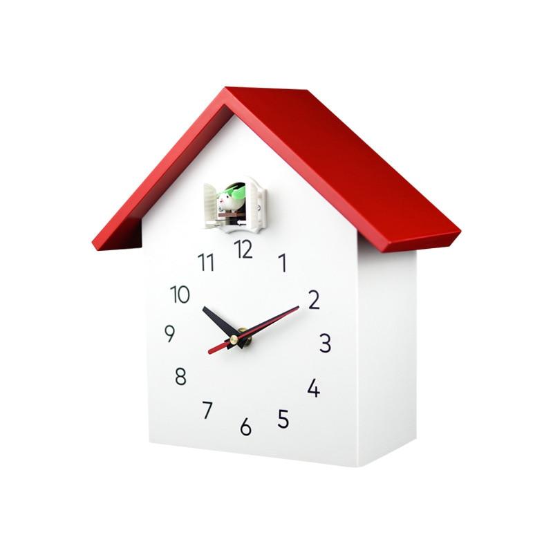 Cuckoo Quartz Wall Clock Modern Bird Hanging Watch Decoration Alarm Clocks Home Living Room