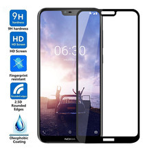 Tempered Glass for Nokia 2.2 3.2 4.2 Full Screen Protector For Nokia X6 X5 X3 2.1 3.1 5.1 6.1 7.1 7 Plus 2018 Protective Film(China)
