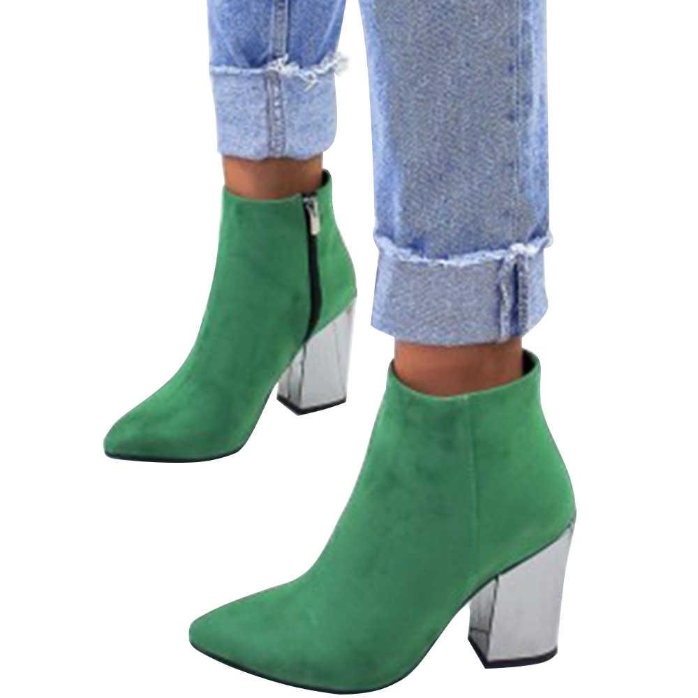 Wenyujh Vrouwen Laarzen Mode Herfst Winter Pu Vrouwelijke Kant Rits Laarzen Vintage Weven Laarzen 2020 Nieuwe Herfst Enkellaars Feminina