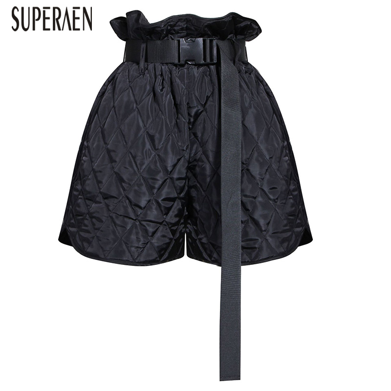 SuperAen High-waist Fshion Women Shorts 2020 Spring And Autumn New Korean Style Ladies Shorts Wild Casual Shorts Female