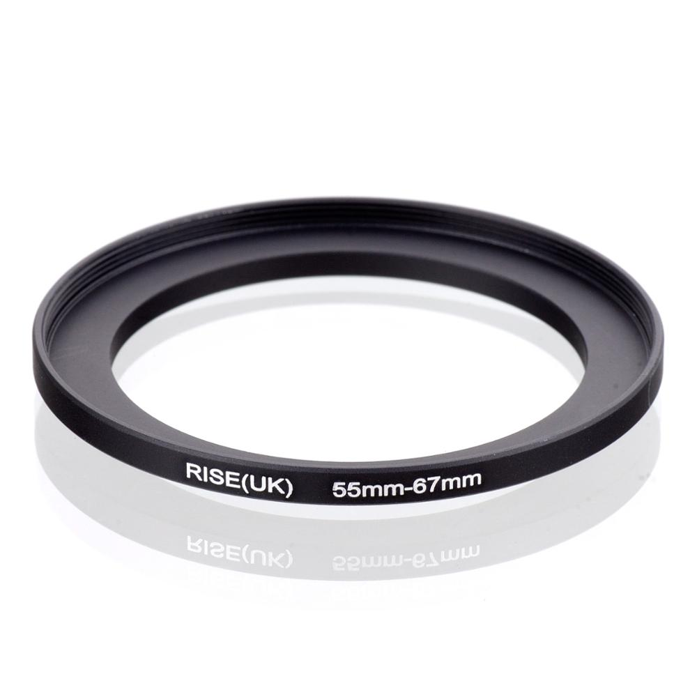 RISE(UK) 55mm-67mm 55-67 Mm 55 To 67 Step Up Filter Ring Adapter