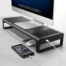 Умная подставка из алюминиевого сплава для ноутбука с USB 3,0 портом JLRJ88