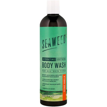Moisturizing and soothing body wash, citrus vanilla flavor, 12 fluid oz (354ML)