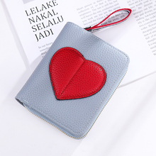 High Quality Women Wallet Lovely Cartoon Love Leather Short