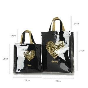 Image 5 - Mode PVC réutilisable sac à provisions femmes sac écologique londres Shopper sac grande capacité étanche sac à main sac à bandoulière